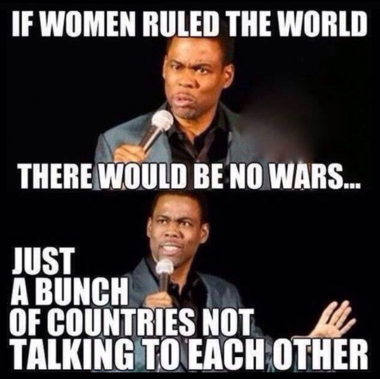 What Would Happen If Women Ruled The World