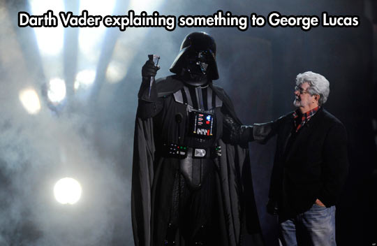 'See, Here's The Thing About The Dark Side…'