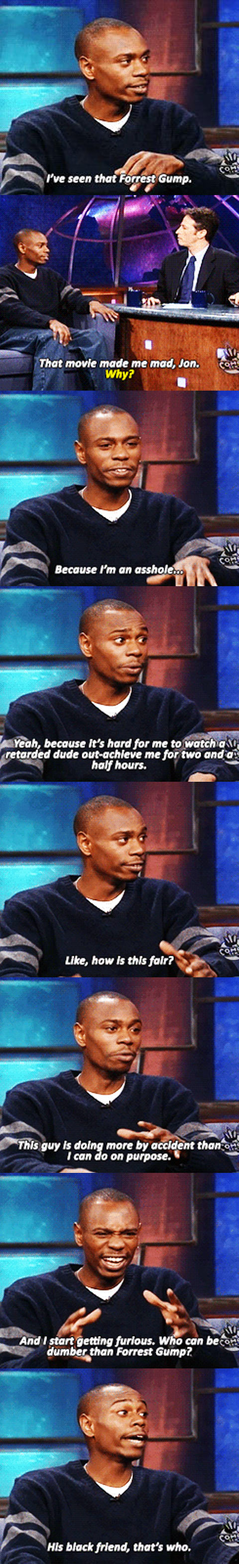 Dave Chappelle Has a Point