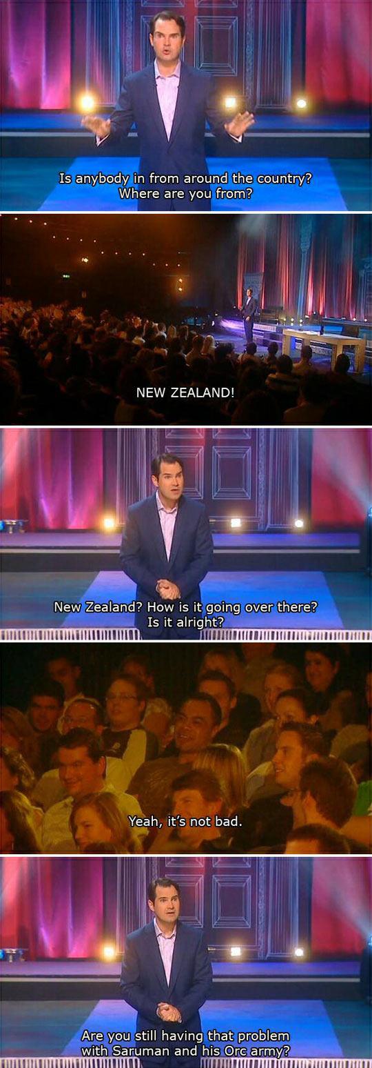 funny-Jimmy-Carr-New-Zeland-LOTR