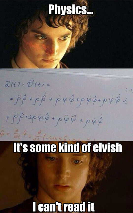 Whenever I Try To Understand Physics