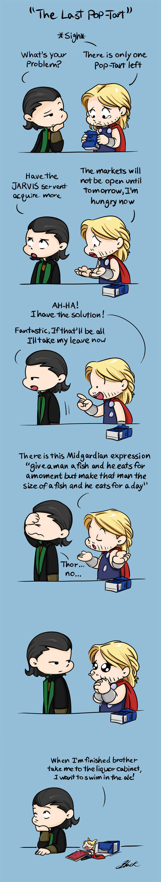 Loki And Thor Are Stressing Over What?