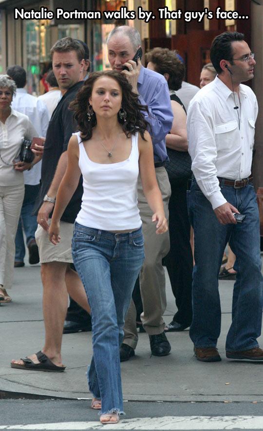 funny-Natalie-Portman-walking-street-guy-face