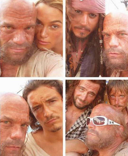 Pirates Of The Caribbean Selfies