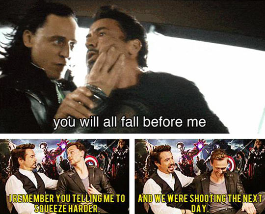 funny-Robert-Downey-Jr-Tom-Hiddleston-Loki