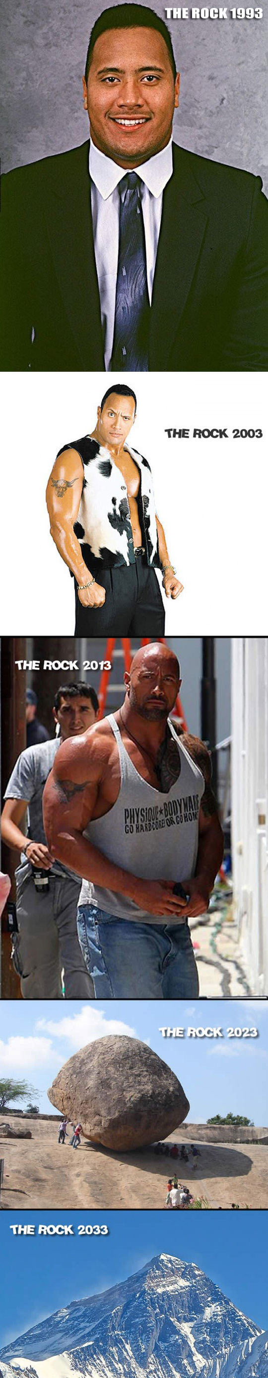 funny-Rock-actor-years-changes-mountain