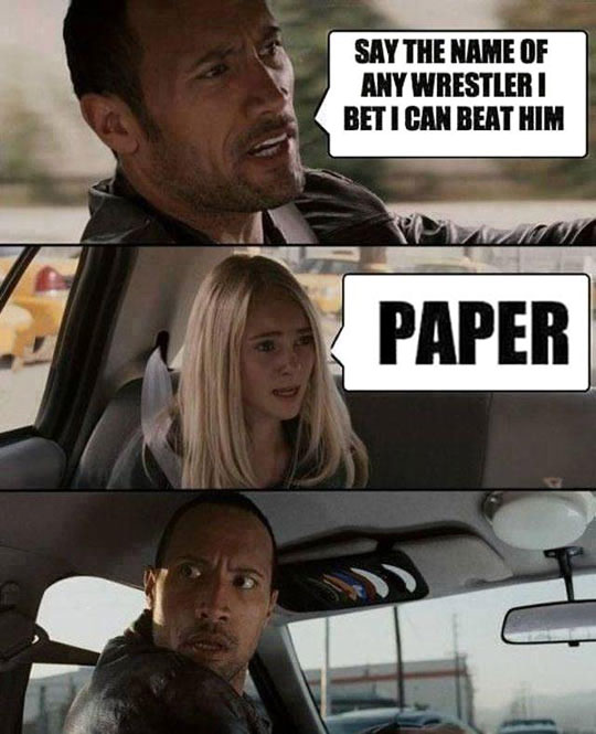 The Rock Thinks He Can Beat Anything