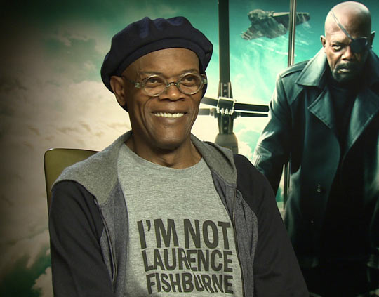 Samuel L. Jackson Is Winning At T-Shirts Today