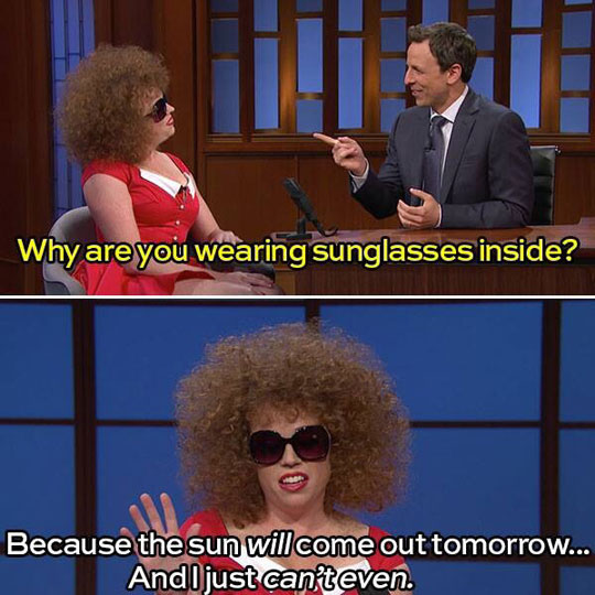 funny-Seth-Meyers-sunglasses-inside-woman