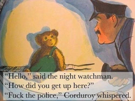 Corduroy Doesn't Play Games