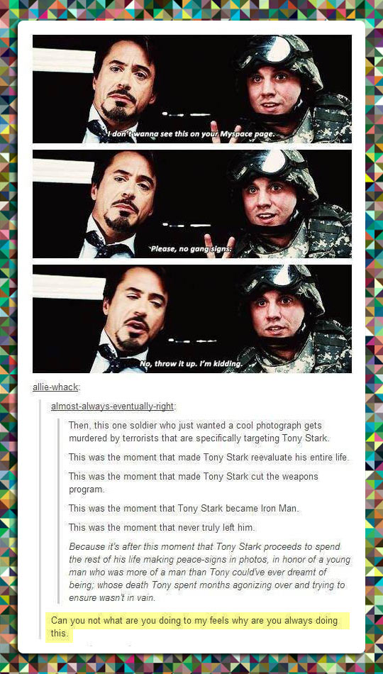 The Moment Tony Stark Became Iron Man