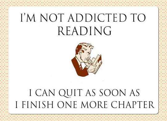 One More Chapter, Please