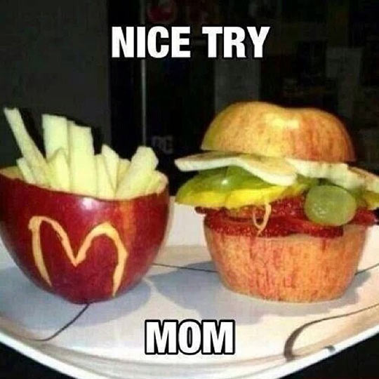 funny-apple-Mc-Donalds-burger-shape