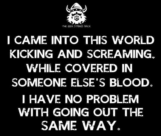 Bloody Vikings, Man