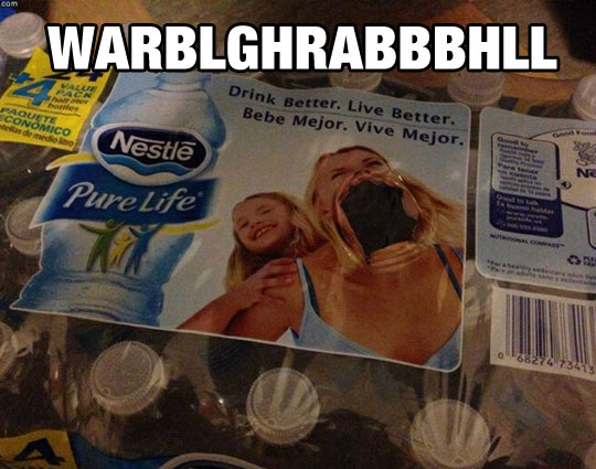 funny-bottle-bag-woman-mouth
