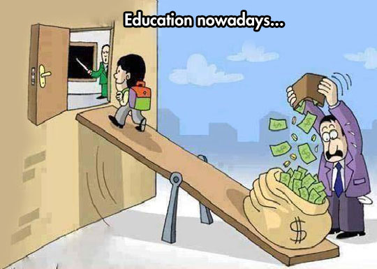 This Is What Education Feels Like Today