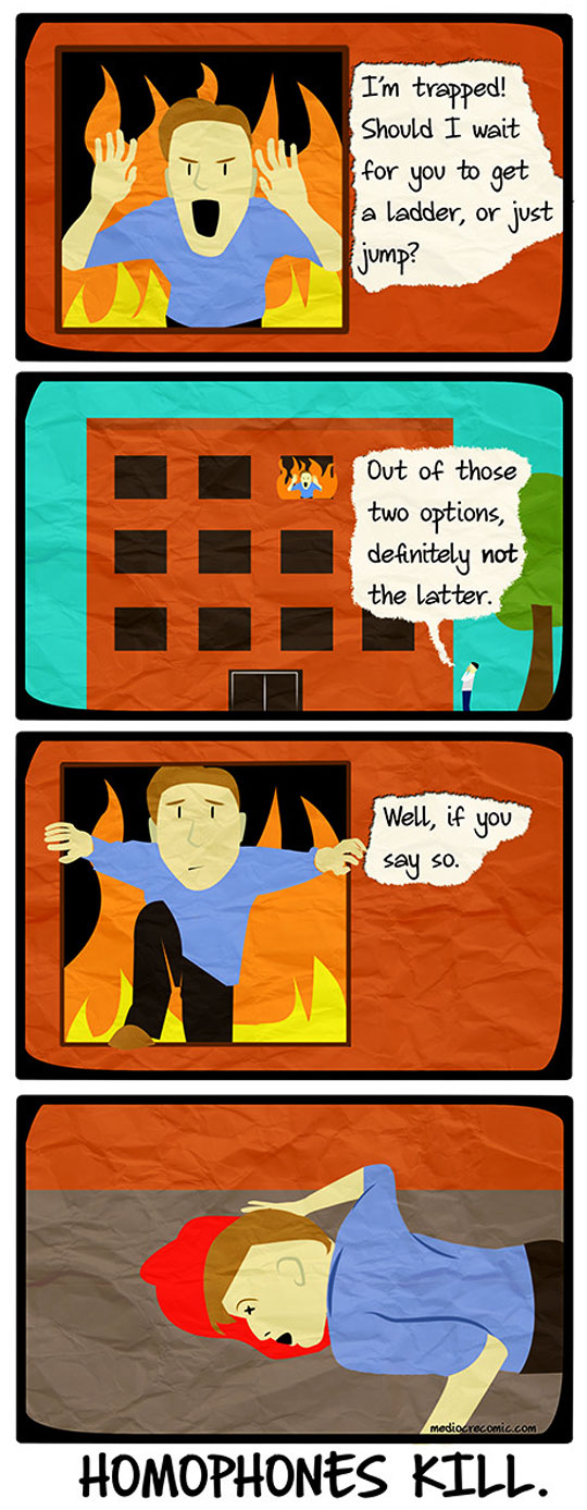 funny-cartoon-fire-jumping-ladder