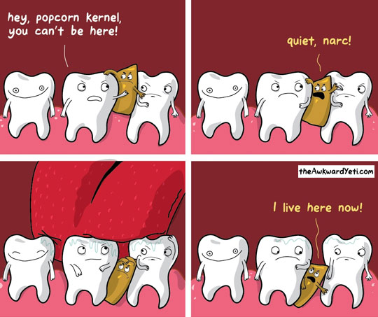 This Is Why I Don't Eat Popcorn