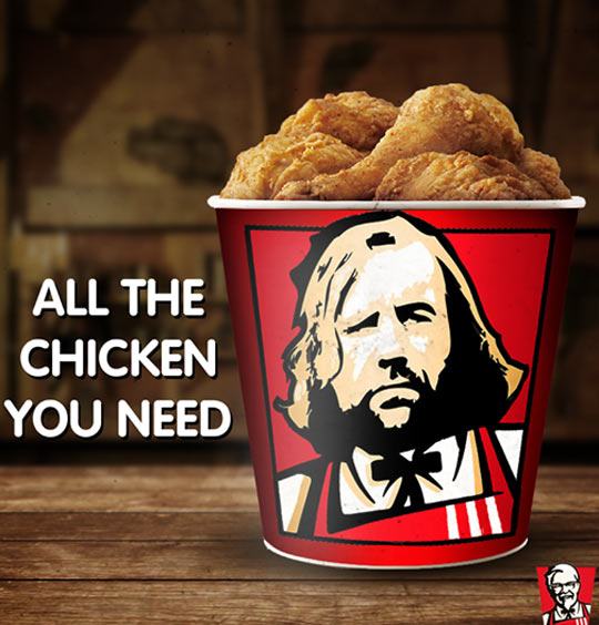 Hound's A Fan Of KFC