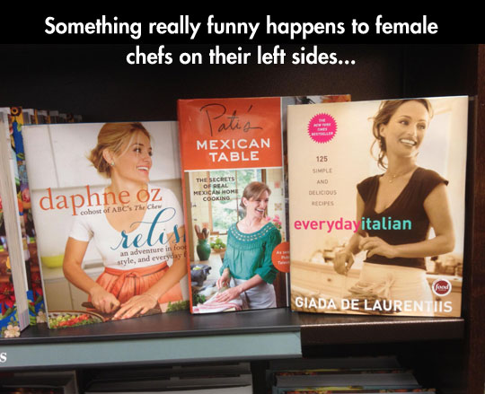 Female Chefs And Their Left Side