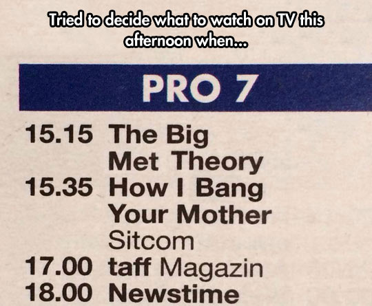 I Know Exactly What I'm Doing At 15:35