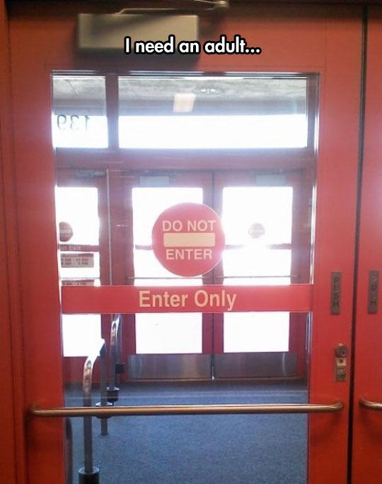 funny-door-entrance-exit-sign-confusing