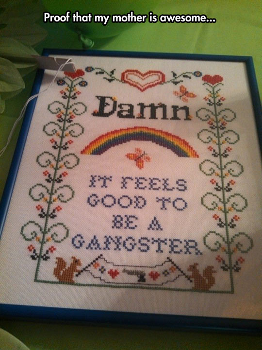 funny-embroidery-feeling-good-gangster