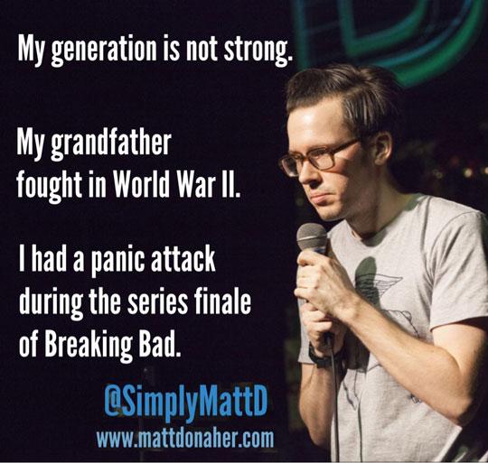 A Really Weak Generation