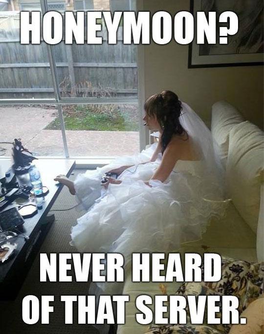 funny-honeymoon-gamer-bride-server
