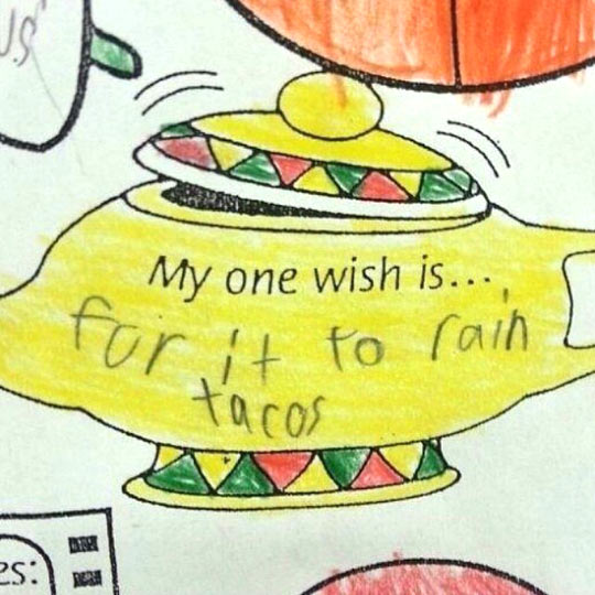 funny-kid-wish-taco-raining