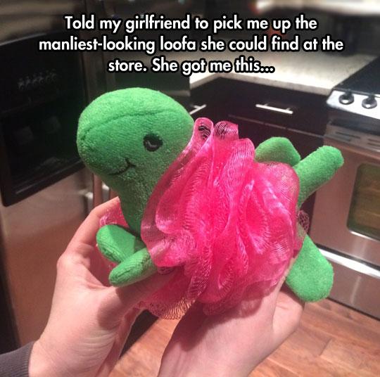 funny-loofah-sponge-manly-dinosaur-cute