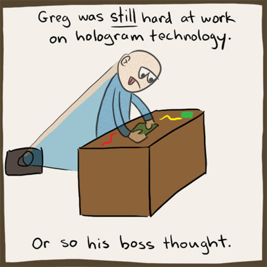 funny-man-hard-working-hologram