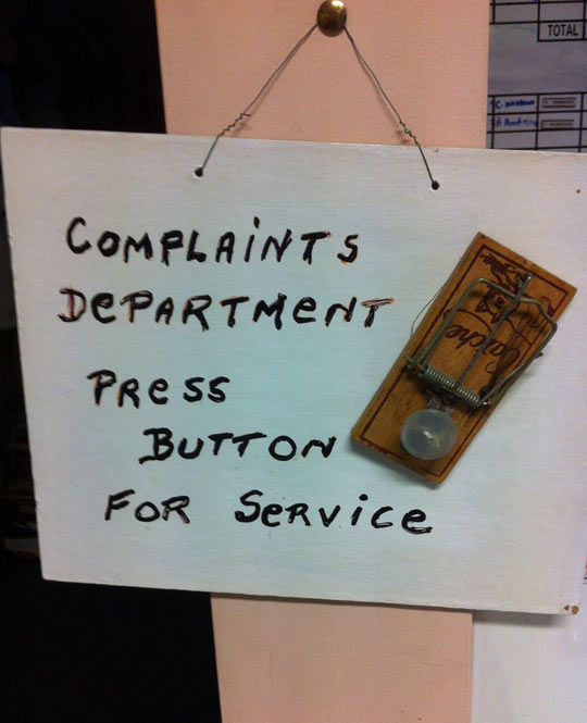 Please File Your Complaint