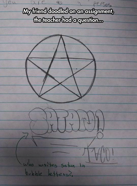 Satan's Cutest Follower