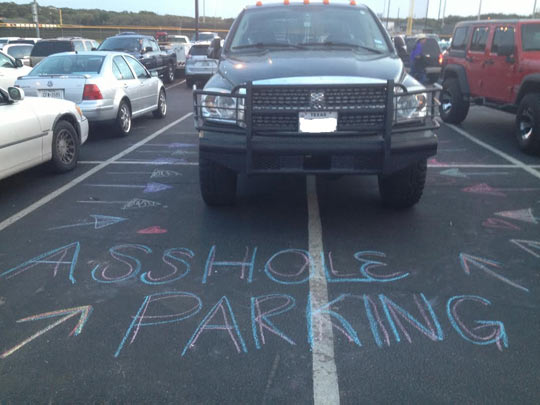 How To Deal With The Whole Parking Problem