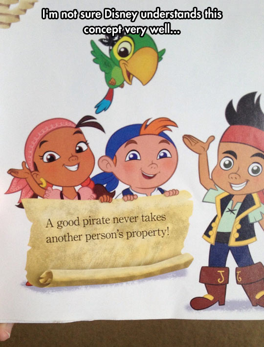 funny-pirate-Disney-kids-message