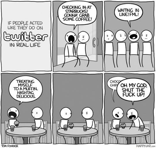 If People Acted Like They Do On Twitter