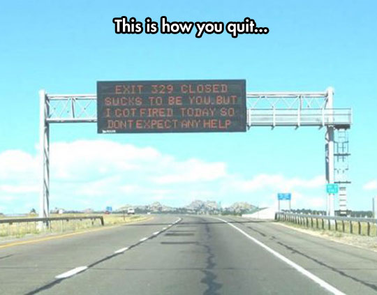 The Proper Way To Quit Your Job