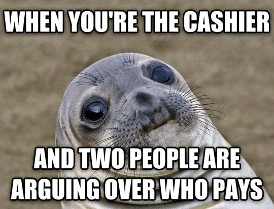funny-seal-mouth-cashier-people