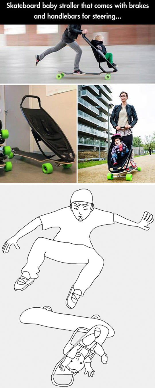 Radical Skateboarding With a Twist