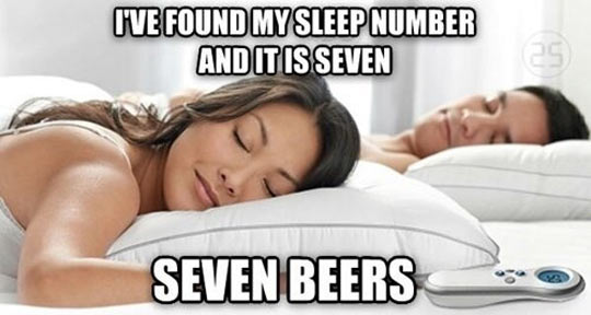 funny-sleeping-bed-woman-partner-number