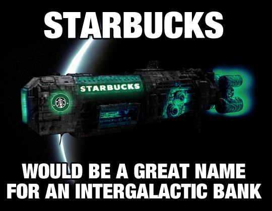 Starbucks In Space