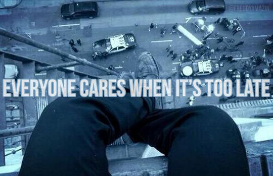 But It's Never Too Late To Care
