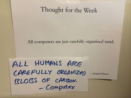 Thought Of The Week At Microsoft