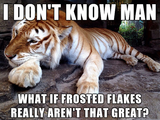 funny-tiger-thinking-Frosted-Flakes