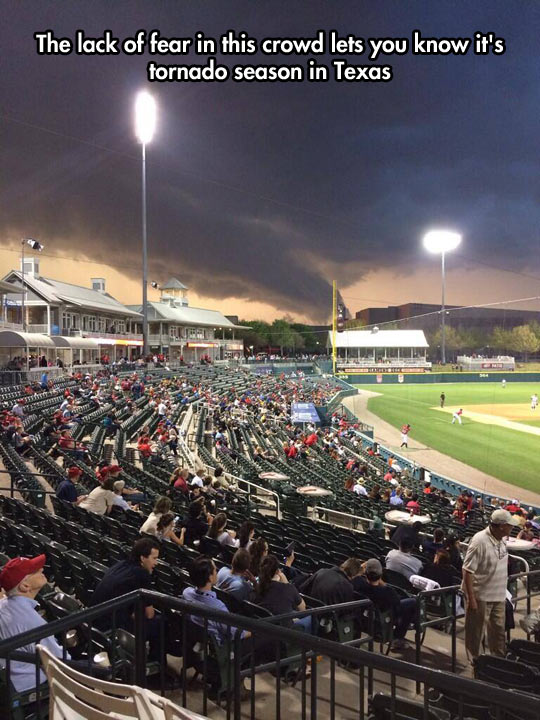 Tornadoes Can Wait, This Is Baseball