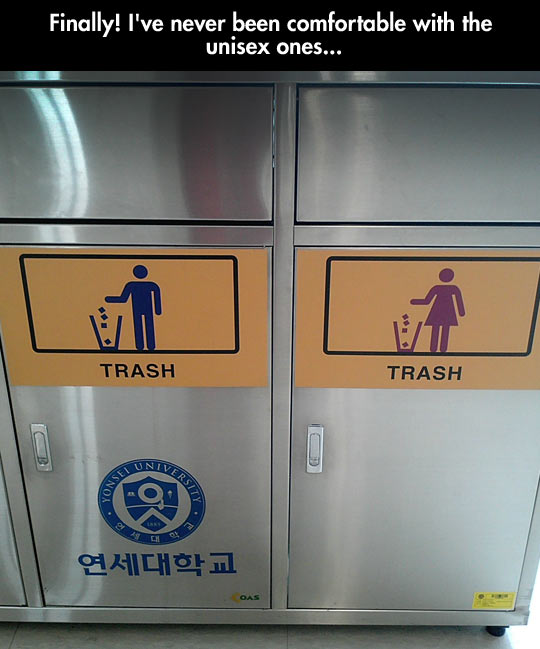funny-trash-cans-women-men-difference