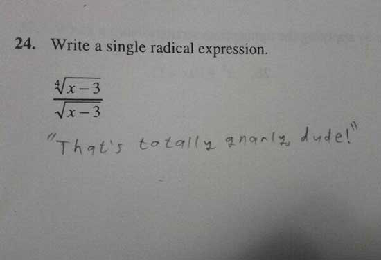 smartass-test-answer-radical-expression