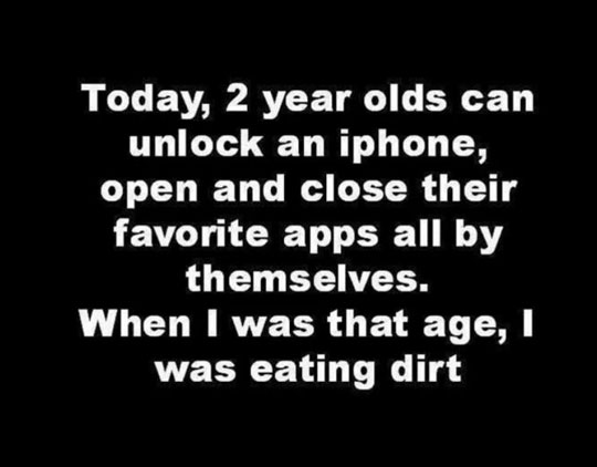 Kids Are Smarter Now