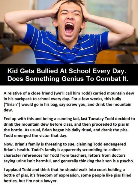 Kids gets bullied at school